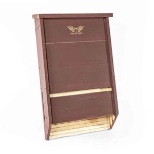Big Bat Box BCI Certifié Triple Chambre Bat Maison Marron