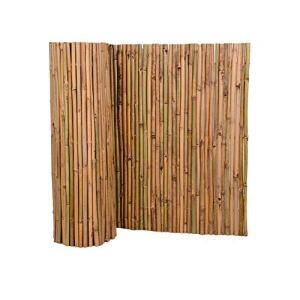 Brise-vue en bambou Nature by Kolibri Différentes tailles disponibles Clôture pour terrasse, balcon et jardin Coupe-vent