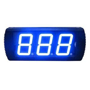 Compte à rebours numérique intervallomètre 4 Pouces Chronomètre Compte à rebours Gym Grand Compte à rebours (Couleur: Noir, Taille: 34.6X16X4CM) Peng (Color : Black, Size : 34.6X16X4CM)