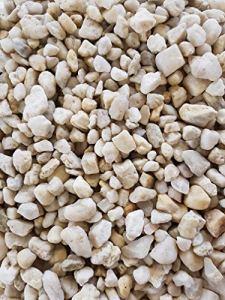 Der Naturstein Garten 25 kg Gravillon de Quartz Blanc 8-16 mm – Livraison Gratuite