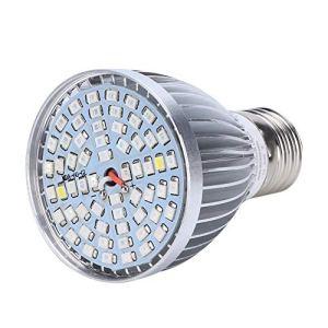 Duokon 60 W 60 LED Plante à Spectre Complet élèvent la Lampe Ampoule remplissent la lumière pour la Serre Chambre Sombre Plante Croissance des Fleurs hydroponiques 85-265 V