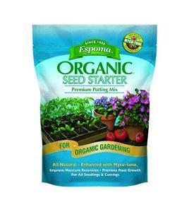 ESPOMA COMPANY – Seed Starter Potting Mix, Organic, 8-Qts.