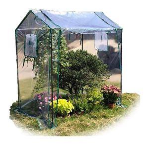 ETNLT-FCZ Serre De Jardin avec Entrée Enroulable, Matériaux Résistants Aux Intempéries,Tomate Légumes Serre, Serre pour Tomate 130x90x150 Cm (Color : 2pcs, Size : 130x90x150cm)