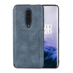 Étui Portefeuille pour OnePlus 7 Pro (Bleu)
