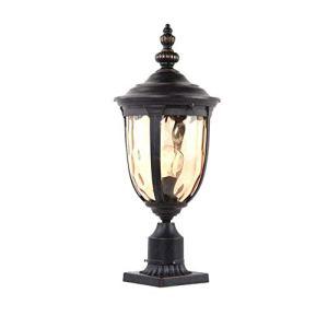 FENGLIAN Colonne européenne Patio antipluie Lampe Paysage extérieur Jardin Post Light extérieur étanche Victoria en Verre Pilier Lanterne Villa Balcon Terrasse Gazebo Chemin Paysage Lumière