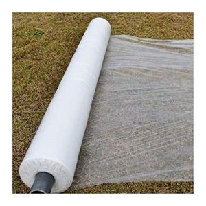Fgolphd 10m 0.006mm Mulch Film PE Couvercle de Plastique Blanc PE Produit DE Couverture DE GLES Garder Garder Le Film DE Mulch DE CONTRÔLE TOURIS (Color : 0.8M Width, Size : 10 Meters)