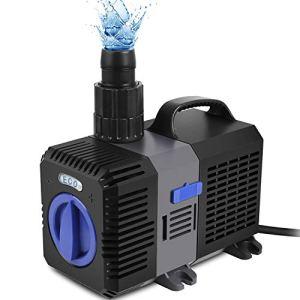 Forever Speed Super Eco Pompe de bassin, pompe à filtre, basse consommation, pompe à eau bassin koï, pompe ruisseau 3600L/H