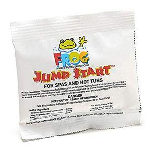 Frog Frog Jump Start pour spas et Jacuzzi 4,6 g par Paquet 1.5 oz