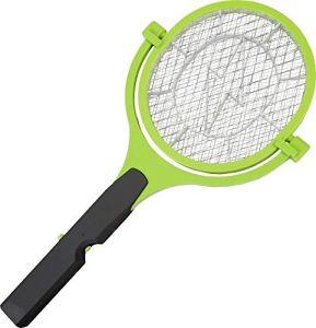 Gardigo Raquette Electrique Anti Moustiques 90° Anti-Insectes Volants, Tapette Tue Mouches