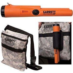 Garrett Pro Pointer AT Détecteur de métaux étanche ProPointer avec pochette camouflage Garrett