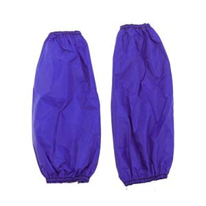 Healifty 1 paire de manchons de soudure ignifuges en PVC imperméables lavables pour la cuisine 1 PAIR bleu