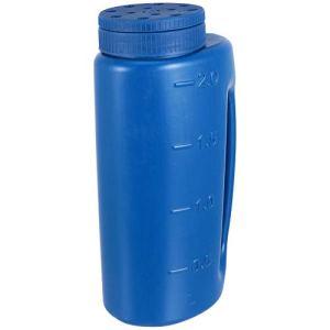 Hemoton Sel Et Épandage Épandeur à Main Réglable Taille du Trou de L'engrais Épandeur à Main Shaker pour Sel Fondre La Glace Bleu
