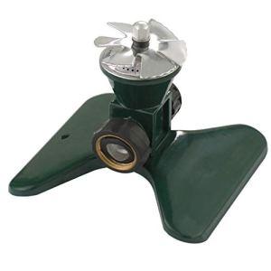 huiingwen Arroseur automatique rotatif à 360° Cyclone II Tandem Base Outil de jardinage Système d'irrigation pour cour extérieure