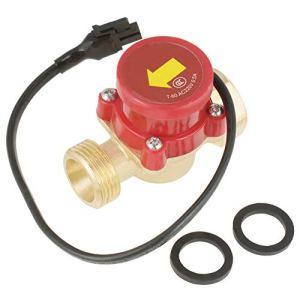 Interrupteur de Pompe à Eau -Samfox 1 PCS 220V 0.5A G3/4″-3/4″ Filetage Pompe à Eau