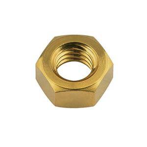 JYSLI Twist Écrous Titane M5 M6 M8 Ti écrou Hexagonal for vélo Moto et en Voiture de Fixation Nut (Couleur: Or, Taille: M8 1.2mm) Percer (Color : Gold, Size : M5 0.8mm)