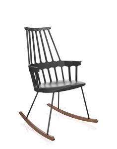 Kartell COMBACK Chaise, noir