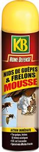 KB Mousse Nid de Guepes et Frelons 500ml