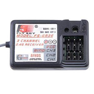 Le récepteur standard FS-GR3E 2.4Ghz à 3 canaux pour bateau automobile Rc New