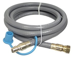 M.B. Sturgis Inc. Connecteur de gaz à déconnexion rapide pour barbecue à gaz naturel 0,95 cm ID (4,5 m)