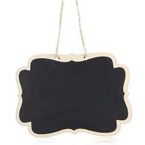 Omabeta Tableau Noir fiable Suspendus Plante Tableau Noir étiquette d'usine Tableau de Messages sûr pour Le marquage