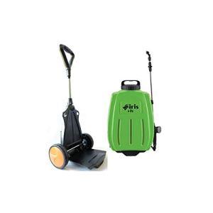Pulverisateur electrique 16L Batterie Lithium 10Ah Chariot trolley/Bretelles IRIS Chargeur + 3 buses Jardin Désinfections
