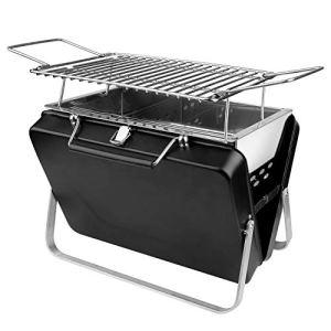 Ruixfft Mini barbecue portable pliable en acier inoxydable pour la maison, le parc, le camping, les pique-niques
