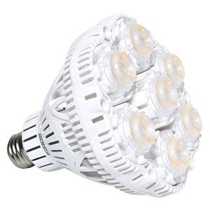SANSI Lampe Horticole LED à Spectre Complet 36W Lampe de Croissance E27 à Cycle Complet, 2000lm Lumière du Jour Blanc,Lampe de Plante pour Serre de Jardin, Plante Aquarium