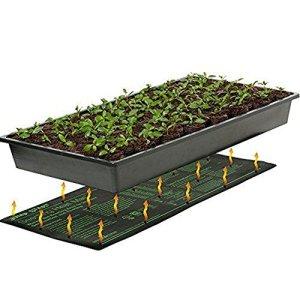 Tapis chauffant pour semis, plantes hydroponiques pour reptiles et propagation 25,4 x 50,8 cm