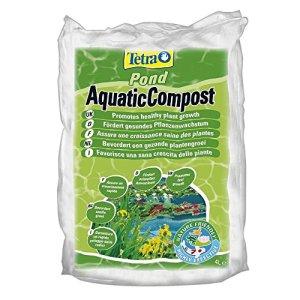 Tetra Pond AquaticCompost – Engrais, Terreau pour Fond de Bassin – Nutriments pour Plantes de Bassin de Jardin et d'Ornement – Favorise la Croissance des Plantes – 4 L