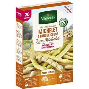 Vilmorin – Graines de Haricot à écosser Michelet à longue cosse 20 mètres