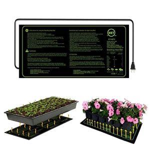 XIJING Tapis Chauffant de semis 110 V / 220 V/Coussin Chauffant de semis étanche propagateur chauffé Durable pour la Germination hydroponique intérieure des semences