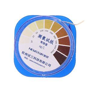 ZJL220 bandelettes de Test de Chlore Bande de Test de qualité de l'eau Piscine Eau Acide alcalin indicateur Fournitures de Test de Papier