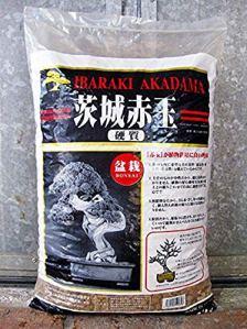 Akadama Ibaraky – Substrat japonais neutre pour bonsai, grain fin-moyen (3-7 mm) – 14 l