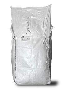 ASUP Big Bag Couvercle pour tablier SWL 1000 kg 90 x 90 x 110 cm, blanc