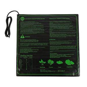 ATopoler Tapis Chauffant pour Plantes 50,8 x 50,8cm, Coussin de Chauffage hydroponique imperméable, Serre de Germination chauffante 45W, Tapis Chauffant pour Terrarium pour Usine de Reptile de Graine