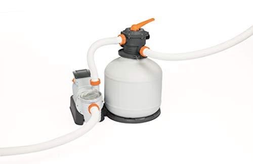 Bestway Flowclear 58486 Pompe de filtration à sable Débit 9800 L/H pour piscines hors sol