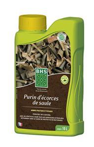 BHS PES1 Purin Ecorces De Saule | 1 L | Soit 15 L | Liquide | Substance De Base Fongicide sur Pommiers (Tavelure, Fabriqué en France