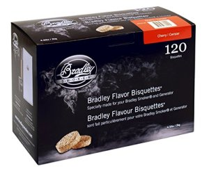 Bradley Cherry Flavour Smokers BISQUETTES (Pack of 120)