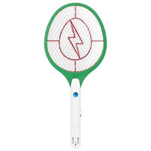 Bug électrique Zapper Swatter Handheld Fly Racket Rechargeable Mosquito Fly Killer Pest Control 220V EU Plug(Vert)