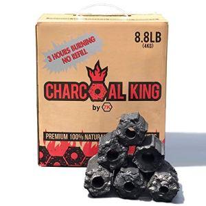 Charcoal King Briquette à charbon