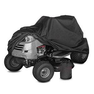 Couverture de Tondeuse à Gazon d'Oxford imperméable à la pelouse de la poussière de Plein air Anti-Pluie désherbage Housse de Machine de Machine pour Polaris Honda Yamaha Suzuki