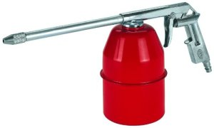 Einhell Accessoire Pistolet spray métal – Pression maximale 3-6 bar – Contenance 0,9 l – Volume d'air minimum 150 l/min