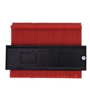 FairOnly Outil de marquage de contour irrégulier pour copie du bois 12,7 cm Rouge