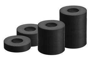 GAH-Alberts 338725 Kit de Douille d'écartement pour vis | 20 pcs. | 20 x 5 mm / 20 x 10 mm / 20 x 20 mm / 20 x 30 mm, Plastique, Noir