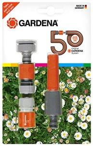 Gardena équipement de base Jubilé Edition à eau, gris/orange, 24,3x 18x 4,1cm