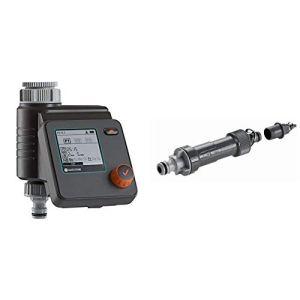 Gardena Programmateur d'Arrosage Select: Arrosage Automatique et Rapide, 3 Programmations & Centrale d'Irrigation 1000 de Unité de Base pour la Réduction de Pression