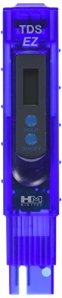 HM Digital Tds-ez Qualité de l'eau TDS testeur, 0–9990ppm Plage de mesure, 1ppm Résolution, une précision de +/-3% de lecture