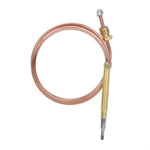 Jacksking Thermocouple de cheminée, Chauffe-Eau Thermocouple à gaz Pilot Assemely, pour cuisinière à Induction pour Chauffe-Eau pour cuisinière à gaz
