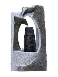 Kiom Fontaines de Jardin Fontaines FoColonnina pour extérieur + intérieur 87 cm 10556
