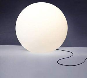 Lampe de terrasse LED Leucht Ei – Décoration Moderne Diamètre : 60 cm